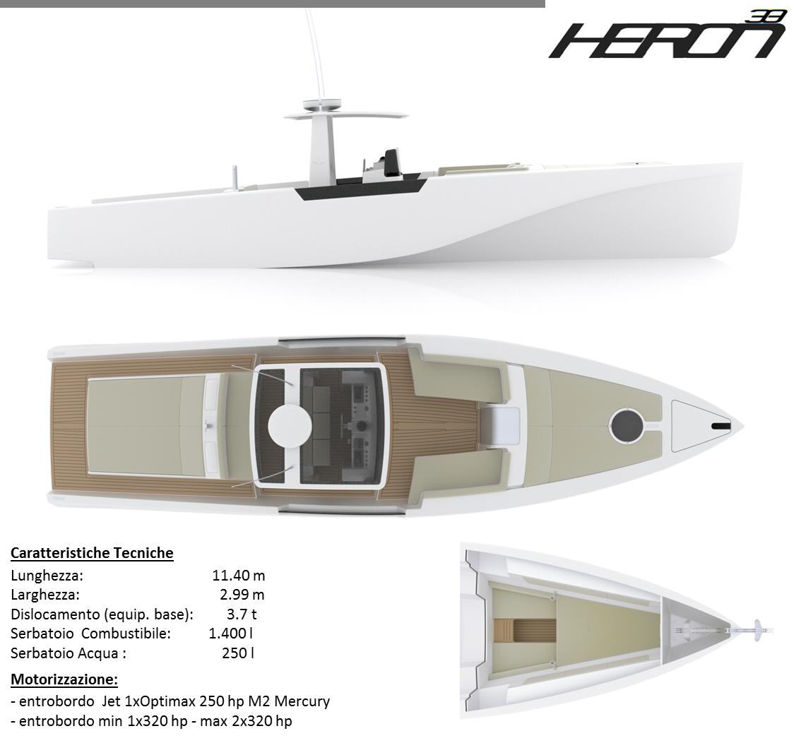 Heron-38-specifiche